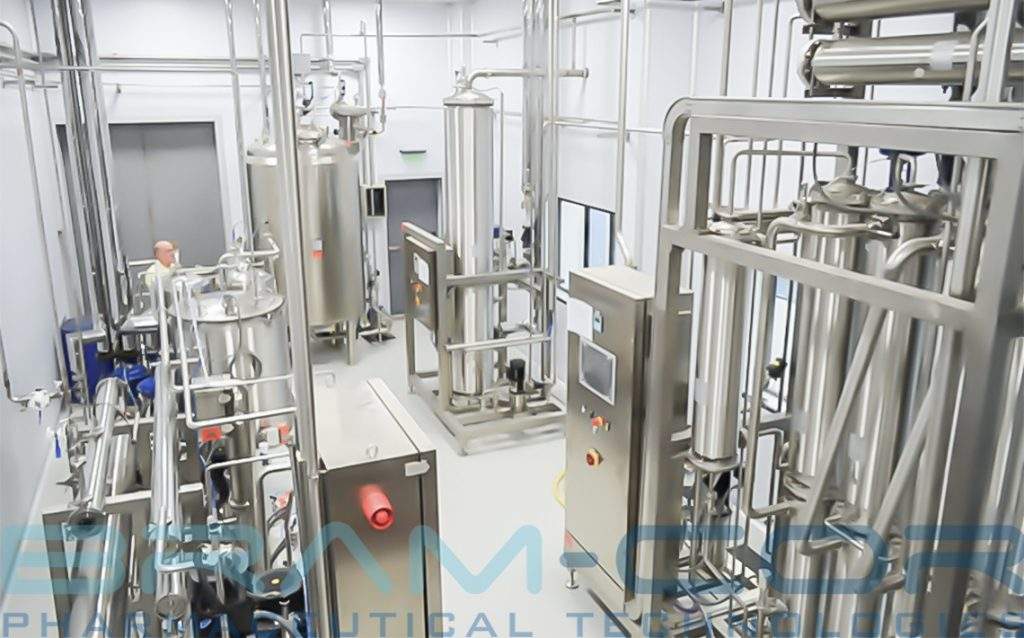 Water Treatment Room with Multi Effect still